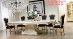 meja makan luxury klasik modern