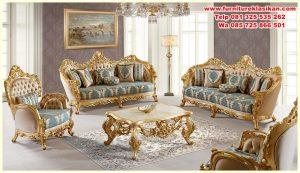 Desain Sofa Tamu Ukiran Mewah Jepara