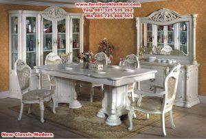 meja makan klasik duco mewah