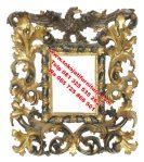 cermin hias ukiran modern