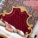 1 set tempat tidur ukir pengantin