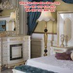 set tempat tidur utama klasik modern