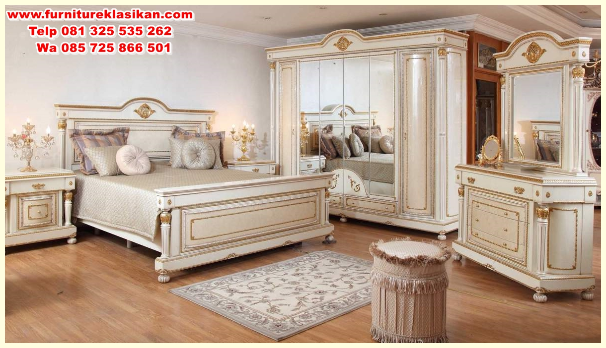 Set Tempat Tidur Modern Klasik