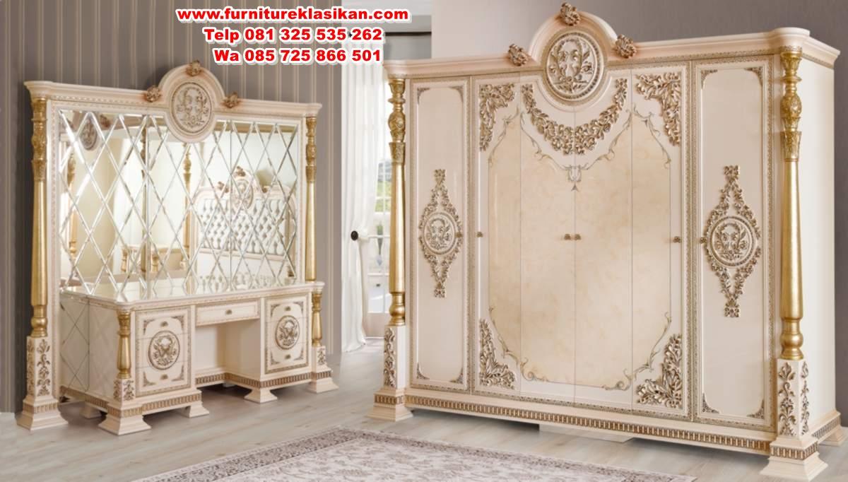 kavesa-klasik-yatak-odasi-126711-21-B 1 set tempat tidur canopy klasik mewah