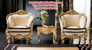 kursi teras luxury ukiran mewah