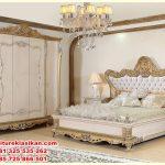 1 set tempat tidur desain klasik