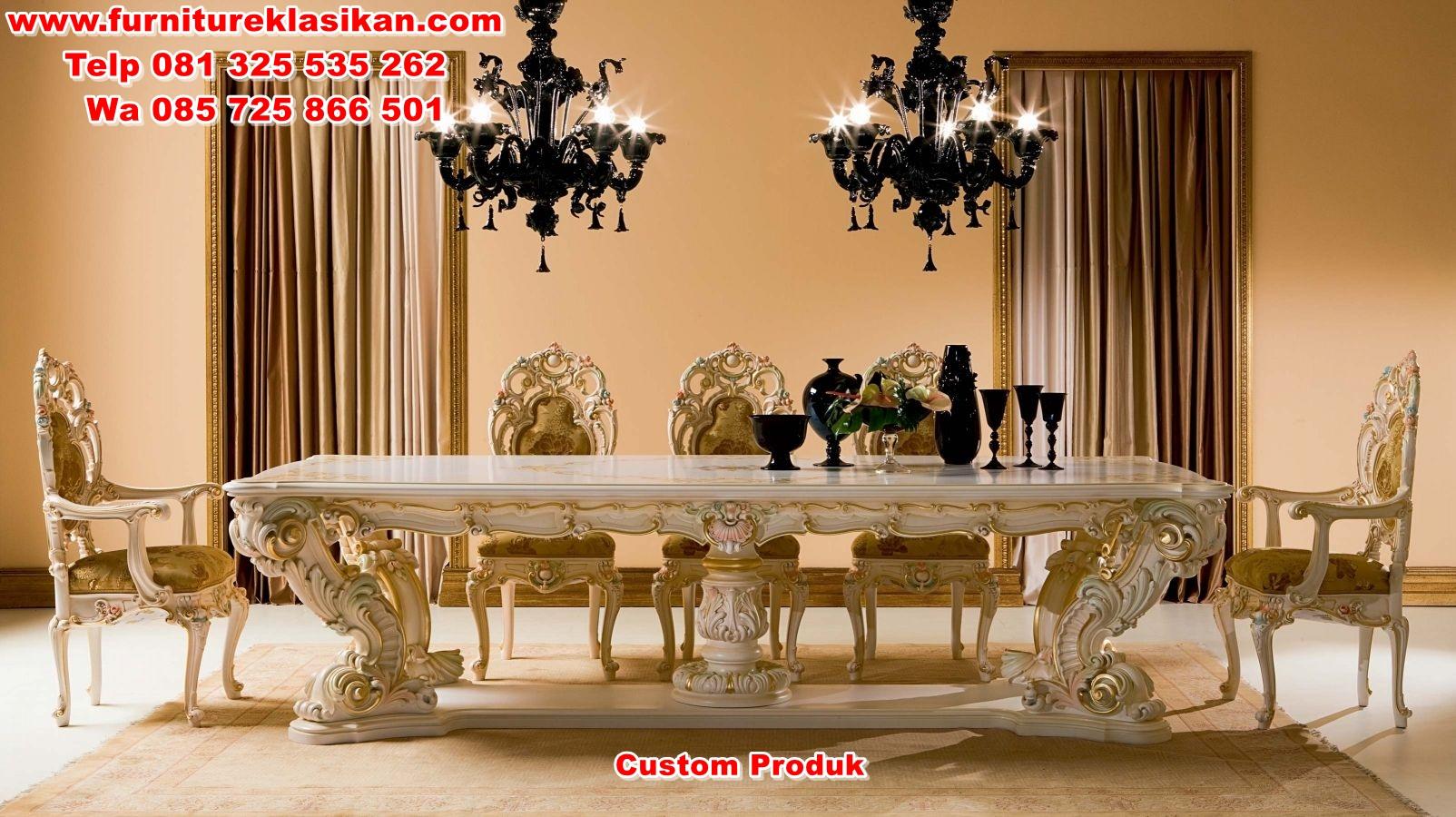 luxury-dinning-table-design-witg-good-good-carving set kursi meja makan klasik mewah