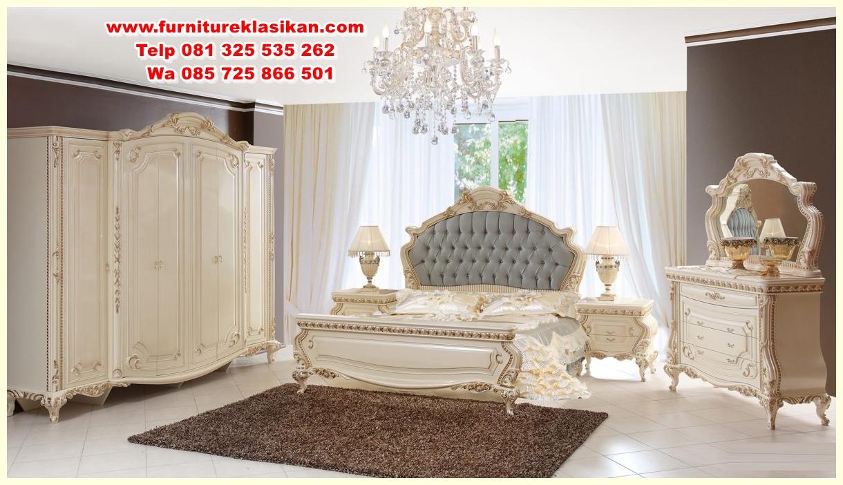 malik-klasik-yatak-odasi-158555-17-B 1 set tempat tidur cream duco gold
