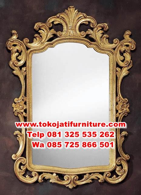 mirror-1880 figura cermin hias ukiran mewah