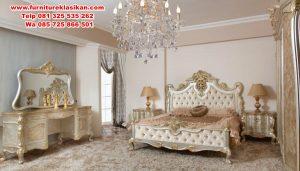 1 set kamar tidur racoco klasik