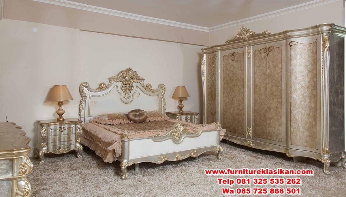 misak-klasik-yatak-odasi-127328-21-B 1 set kamar tidur racoco klasik
