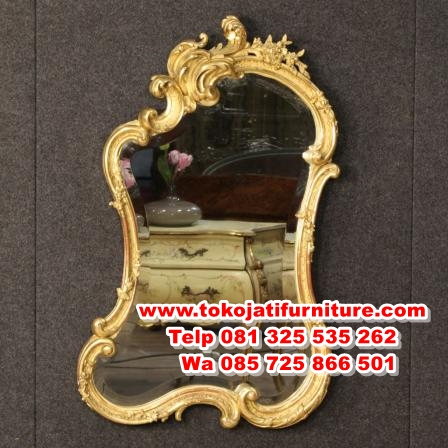 model pigura cermin hias ukiran mewah