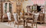 meja makan ruangan klasik mewah