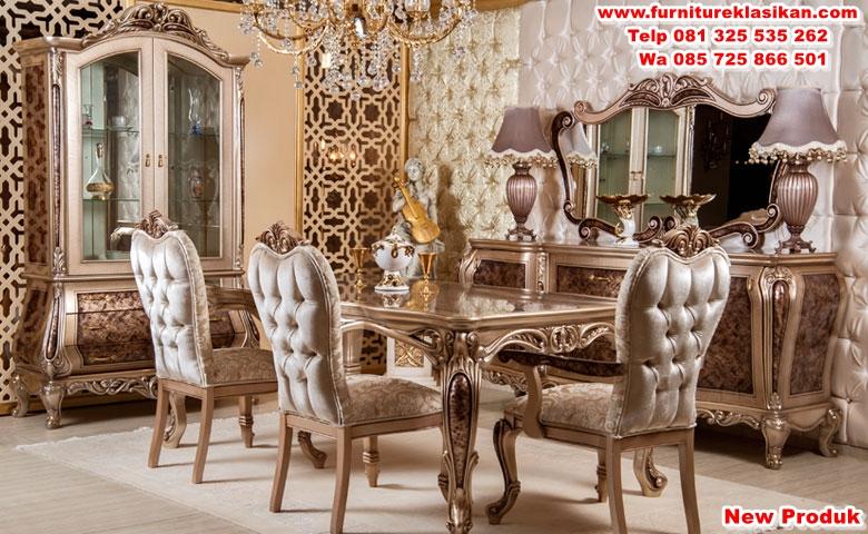 nazende-dining-room meja makan ruangan klasik mewah