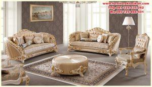 sofa tamu ukiran klasik terbaru jepara