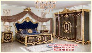 set tempat tidur luxury ukiran mewah