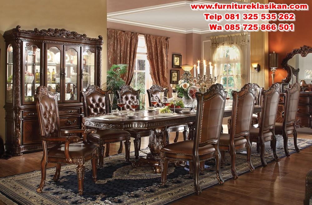 vendome_traditional_dining_table_set-62000 kursi makan jati klasik mewah