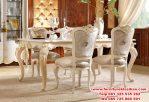 meja makan ukiran duco modern