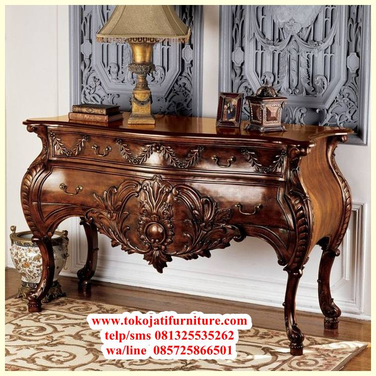 02779725dffac806bc27ac2e88d526c0-furniture-showroom-home-furniture meja konsol jati natural ukiran