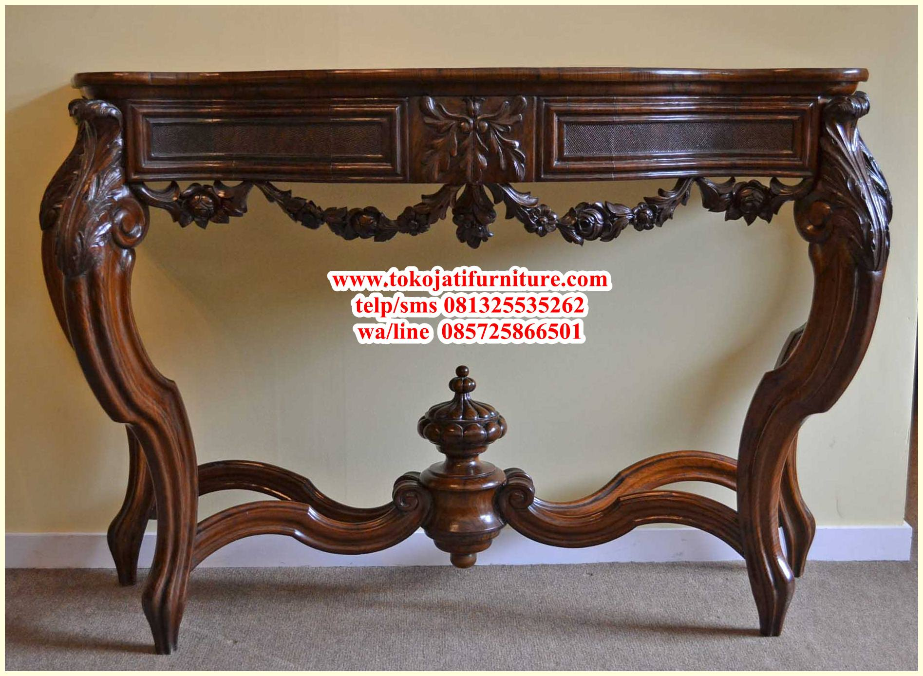03774-Antique-French-Walnut-Console-Table-C1840-1 meja rias konsole jati natural walnut