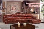 sofa sudut jati gaya eropa modern