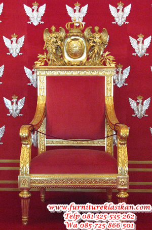 300px-Polish_throne_at_Warsaw_Royal_Castle kursi kantor relief ukiran