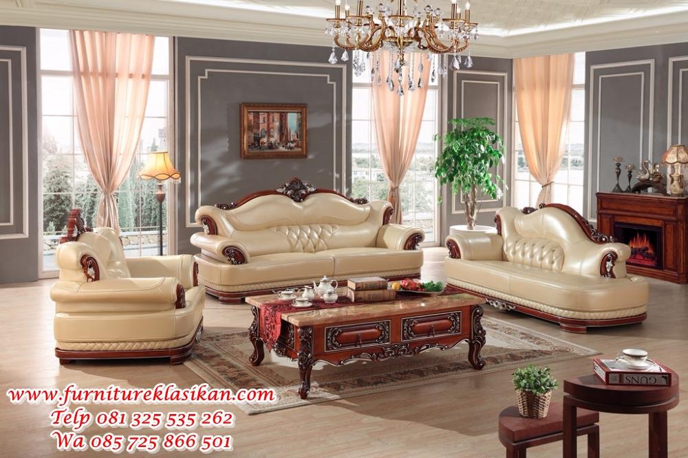 1 sofa tamu mewah klasik modern