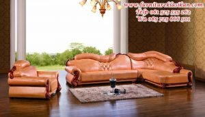 set sofa tamu sudut jati termewah
