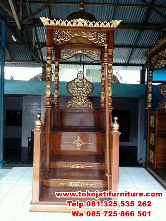 FB_IMG_14908979495694195 model mimbar jati masjid natural gold