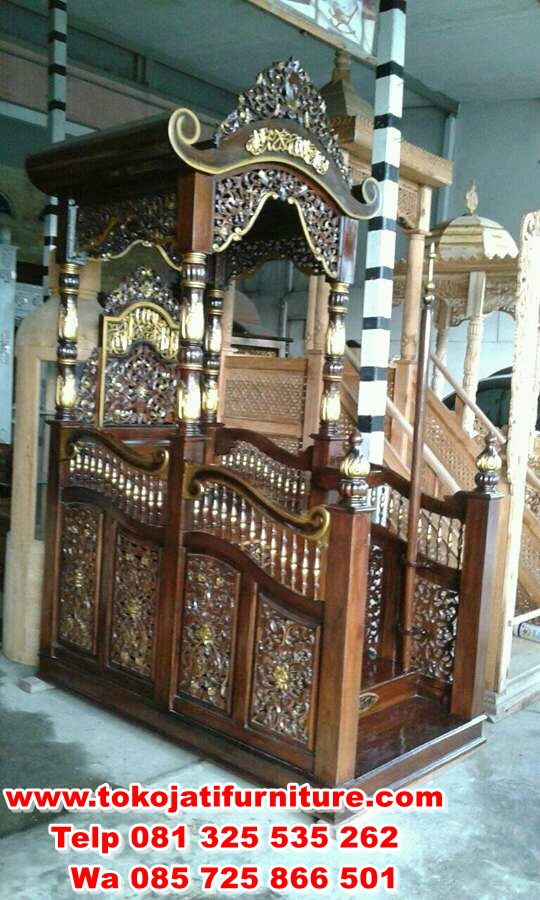FB_IMG_15071197672132133 mimbar masjid jati ukir klasik terbaru