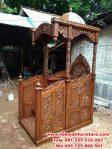 mimbar jati masjid ukir brawijaya