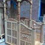 mimbar masjid jati ukir jepara