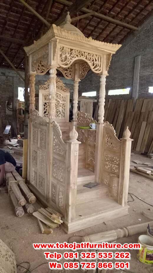 FB_IMG_15155859564061889 mimbar jati masjid model tangga depan