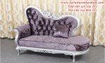 sofa santai desain ukiran mewah