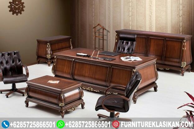 Meja-Kerja-Kantor-Klasik-Mewah Meja Kerja Kantor Klasik Mewah
