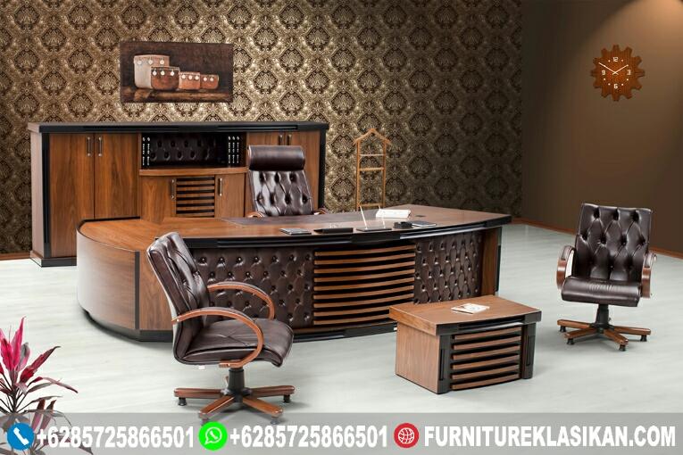 Meja-Kerja-Kantor-Pimpinan Meja Kerja Kantor Pimpinan