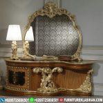 Meja Rias Jati Luxury Klasik