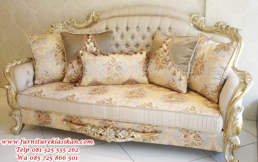 SF019-Rp.32jt kursi sofa santai ukiran classic modern