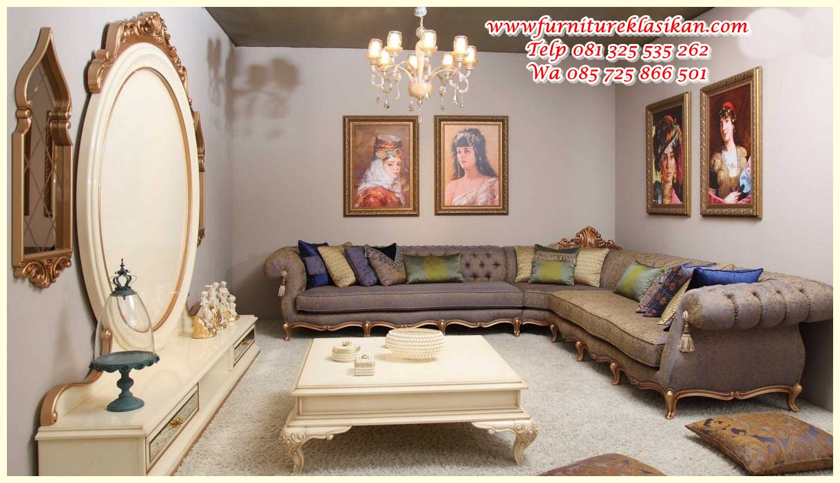 asil-klasik-kose-takimi-122722-20-B set sofa sudut produk jepara