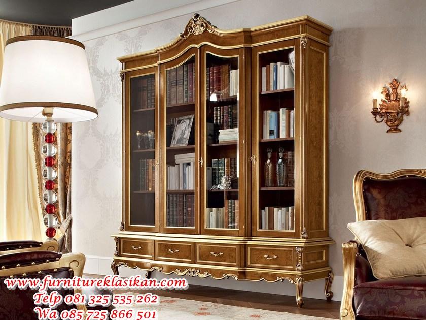 b_12301-Bookcase-Modenese-Gastone-group-134217-relddcf9d98 lemari buku jati desain pajangan