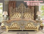 tempat tidur ukiran bellagio klasik