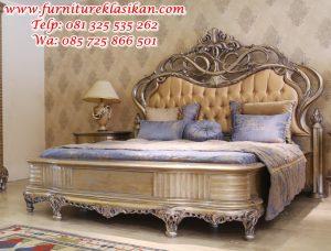 tempat tidur ukiran desain terbaru
