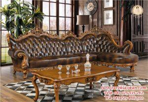 kursi sofa tamu jati ukiran antik