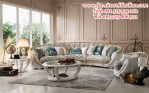 set kursi sofa sudut ukiran luxury