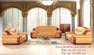set sofa kursi tamu jati modern