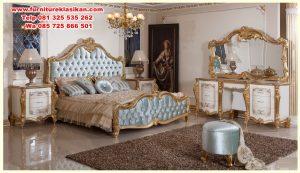 gambar tempat tidur klasik modern