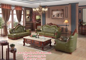 kursi sofa jati ukiran eropa modern