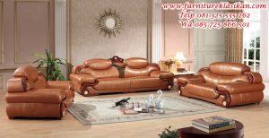sofa tamu jati model mewah terbaru