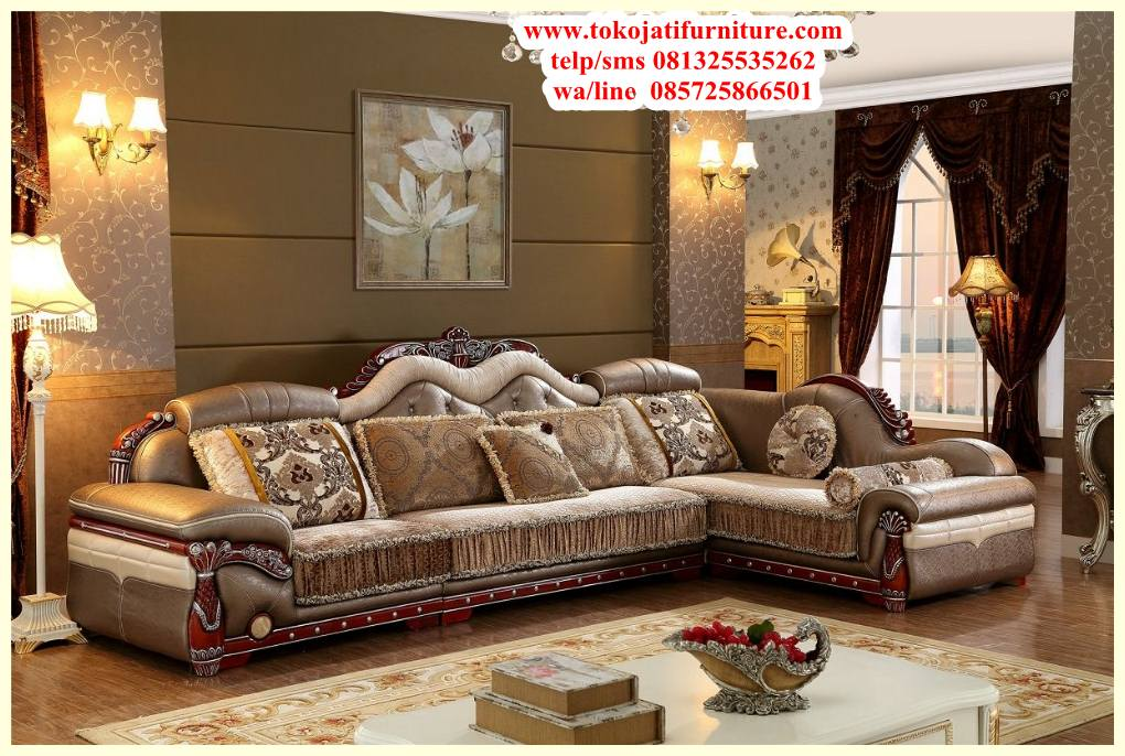 sofa-sudut-jati-luxury-antique sofa sudut jati luxury antique