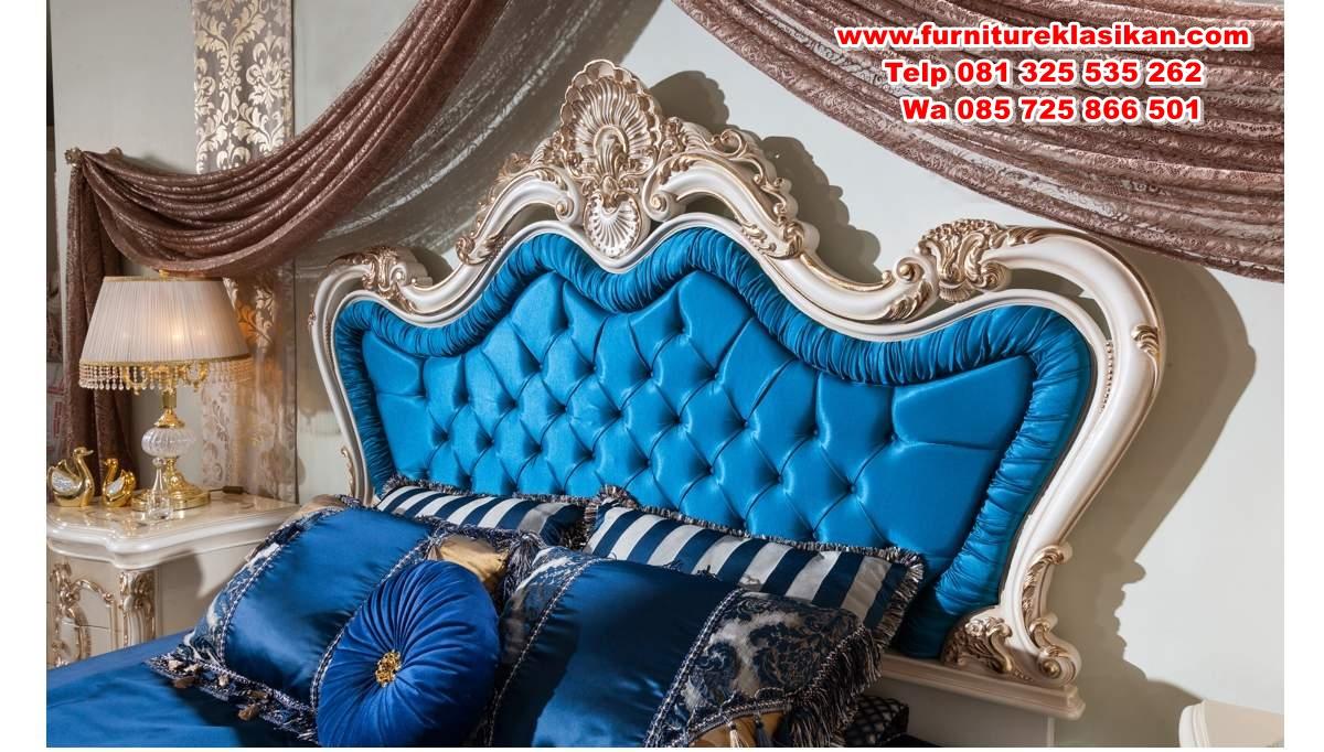 desain tempat tidur ukiran klasik mewah